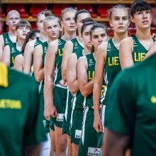 Europos čempionate Lietuvos 16-metės įspūdingai sutriuškino Daniją