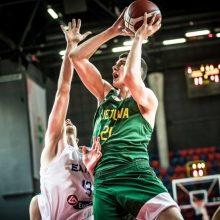 Tel Avive – pirmoji 18-mečių rinktinės pergalė FIBA Iššūkio turnyre