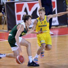 Lietuvos šešiolikmečiai krepšininkai sutriuškino Rumuniją