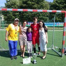 Vilkijiečių šeima – masino futbolo lyderė