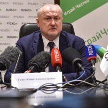 Rusija atleido antidopingo agentūros vadovą