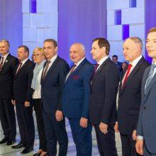 Kandidatai į prezidentus atskleidė kokiais būdais ir kiek keltų pensijas