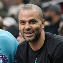 Prancūzijos krepšininkas T. Parkeris baigė karjerą