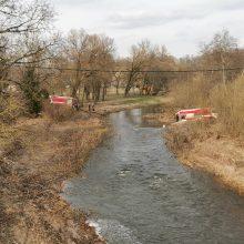 Pagramančio miestelyje liepsnojo medžio apdirbimo dirbtuvėlės