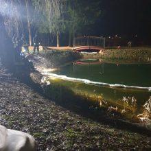 Incidentas Kretingos rajone: į tvenkinius išsiliejo teršalai