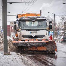 Kaunas ruošiasi gausiam snygiui: gyventojų prašo praleisti gatvių valymo techniką