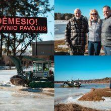 Reportažas iš Radikių: ar gyventojai ruošiasi potvyniui?
