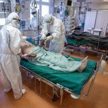 Kauno ir Klaipėdos regionų ligoninėse beveik nėra laisvų vietų COVID-19 pacientams