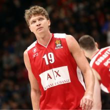 """M. Kuzminskas pasismagino: į """"Darussafaka Tekfen"""" krepšį įmetė 19 taškų"""