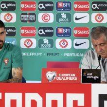F. Santosas: po pirmų rungtynių su Lietuva padarėme išvadas