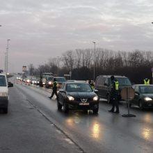 Pirmąją metų dieną policininkai dirbo nuo pat ryto