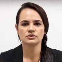 S. Cichanouskaja paragino JT išsiųsti į Baltarusiją stebėjimo misiją