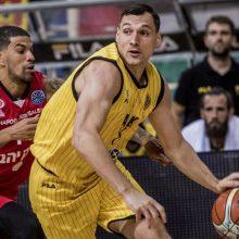 Krepšininkas J. Mačiulis prie AEK pergalės prisidėjo 7 taškais