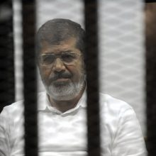 Teisme mirė buvęs Egipto prezidentas M. Morsi