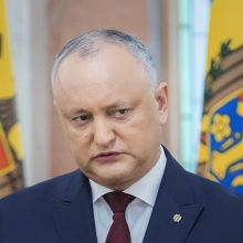 Moldovos prezidentas į premjero postą siūlo savo patarėją I. Chicu