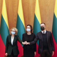 Naujoji valdančioji koalicija pasidalino komitetus bei Seimo vicepirmininkų pozicijas