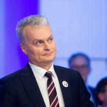 G. Nausėda: valdantieji daro spaudimą Seimo pirmininkui