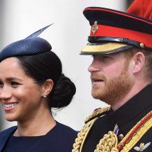 Princas Harry su žmona Meghan palieka Williamo ir Kate fondą