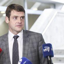 R. Žemaitaitis kol kas neketina trauktis iš Seimo vicepirmininko posto