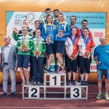 Lietuvos orientacininkams – pasaulio čempionato sidabras