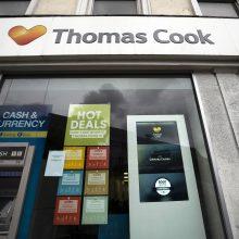 """Kelionių agentūros """"Thomas Cook"""" bankrotas sužlugdė brito Th. Cooko vestuves"""