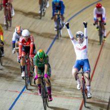 Treko dviratininkės S. Krupeckaitė ir M. Marozaitė Europos čempionate – ketvirtos