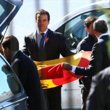 Ispanijoje perlaidoti diktatoriaus F. Franco palaikai