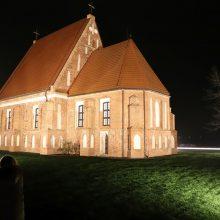 Sakralioje erdvėje prie restauruojamos Zapyškio bažnyčios siautėja įžūlūs niekdariai