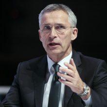 J. Stoltenbergas Miuncheno konferencijoje: NATO gali perimti kurdų mokymus Irake