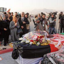 Afganistane surengta laidotuvių ceremonija žuvusiam japonų gydytojui