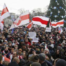 Baltarusiai protestuoja prieš artimesnius ryšius su Rusija
