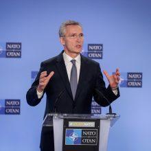 """Po D. Trumpo reikalavimo NATO svarsto """"įvairius variantus"""""""