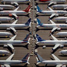 """""""Boeing"""" aptiko dar vieną """"737 Max"""" programinės įrangos problemą"""