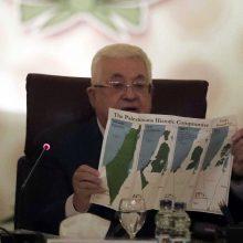 Palestiniečiai nenutraukė visų santykių su Izraeliu, kaip skelbė