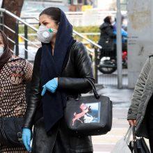 Teherano valdžia dėl koronaviruso atšaukė penktadienio pamaldas