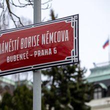 Prahoje atsirado B. Nemcovo aikštė ir A. Politkovskajos alėja