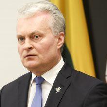 G. Nausėda su Nyderlandų premjeru aptarė situaciją Baltarusijoje