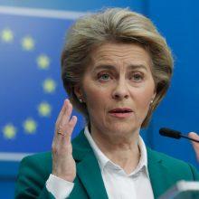 ES lyderiai susitarė dėl koronaviruso 30 dienų riboti atvykimą į Bendriją