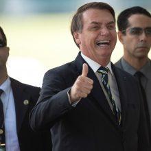 J. Bolsonaras: daugelis brazilų jau turi imunitetą koronavirusui