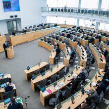 Seimas: Lietuvos bankas gali kredituoti visas finansų įmones