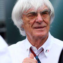 """89-erių buvęs """"Formulės-1"""" bosas B. Ecclestone'as ketvirtą kartą taps tėvu"""