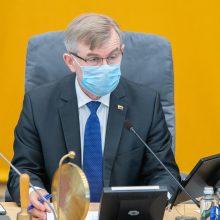 Seimo pirmininkas teikia A. Kabišaičio kandidatūrą į KT teisėjus