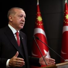 R. T. Erdoganas: koronaviruso sukelta krizė – didžiausia po Antrojo pasaulinio karo