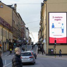 Švedijos opozicija reikalauja ištirti vyriausybės atsaką į COVID-19 protrūkį