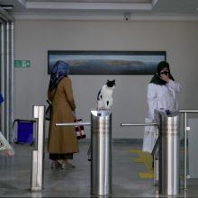 Turkijoje per parą nustatyta mažiau kaip tūkstantis užsikrėtimo koronavirusu atvejų