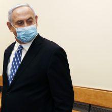 B. Netanyahu patvirtino planus aneksuoti dalį Vakarų Kranto