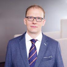 Lobistu įregistruotas Lietuvos bankų asociacijos viceprezidentas A. Budrys
