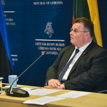 L. Linkevičius: būtina koordinuoti ES-JAV atsaką į geopolitines grėsmes