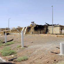 Iranas teigia nustatęs gaisro atominiame objekte priežastį