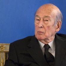 Buvęs Prancūzijos prezidentas V. Giscard'as d'Estaing'as paguldytas į ligoninę